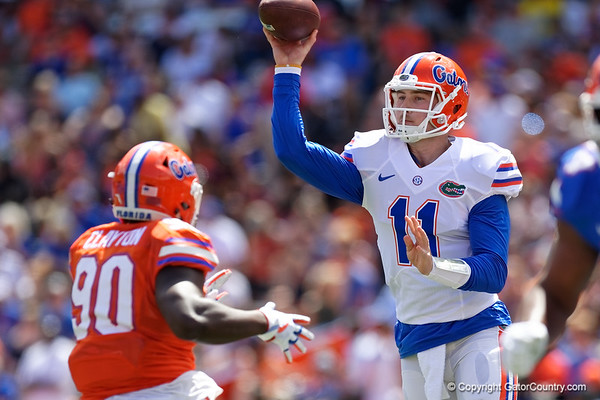 2018 Florida Gators Ornage and Blue Game Gallery