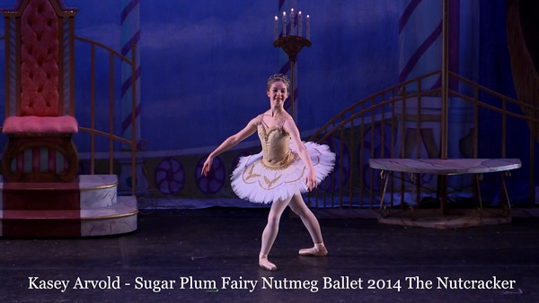 Kasey Arvold  Sugar Plum Fairy