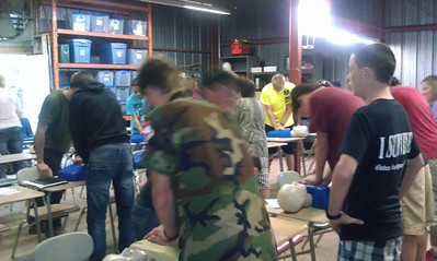 2013 Spring First Aid Class