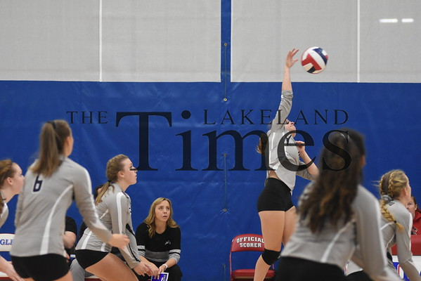 LUHS Volleyball at Northland Pines October 3, 2019