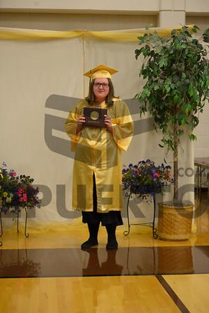 North Bend 2017 Graduation Diplomas