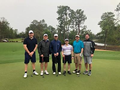 Golf-Group Shots