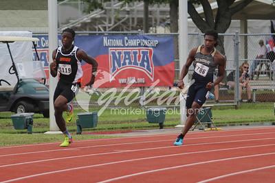 Men's 400m -Trials