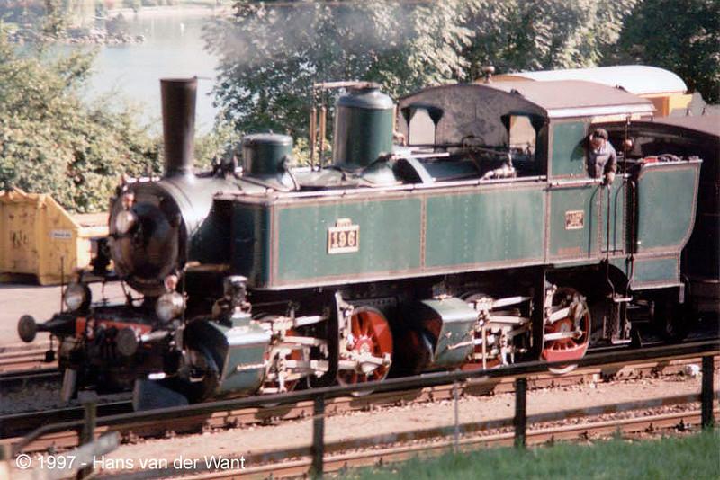 150 Years Swiss Railways - Küssnacht am Rigi - 11 september 1997