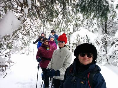2017-02-01 Raquette Camp Mercier (Luc Trahan)