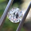 1.10ct Old Mine Cut Diamond, GIA J VVS2 2