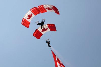 Skyhawks Canadian Parachute Team