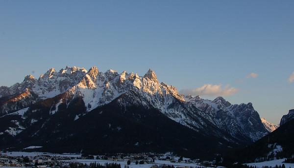 März 2009 Tourenschiwoche Dolomiten