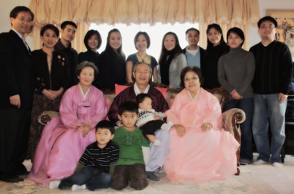 Jan 1st, 2009 - Joann's family portraits