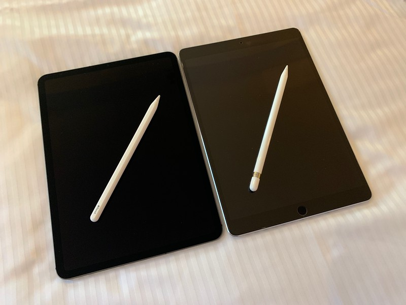 Old iPad Pro with old Pencil vs New iPad Pro with new pencil