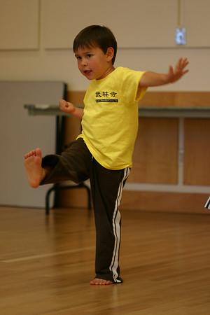 Will at Karate 8/07