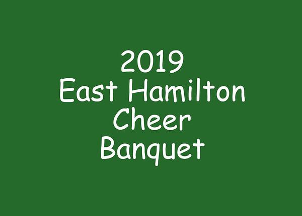 2019 EHS Cheer Banquet