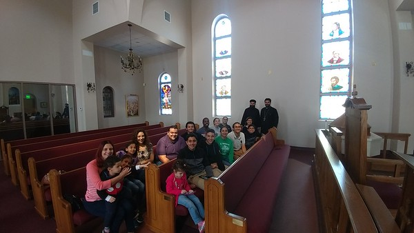 Visitors from Coptic Church