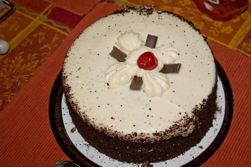 Cake for Deb and Eric's birthdays