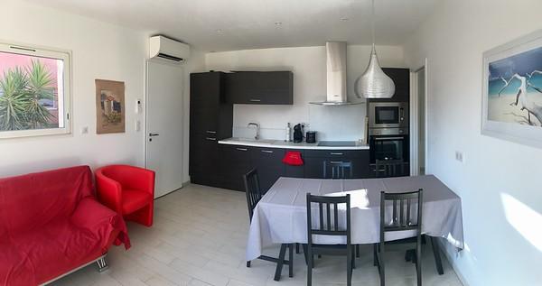 Les deux appartements du bas #G et #D