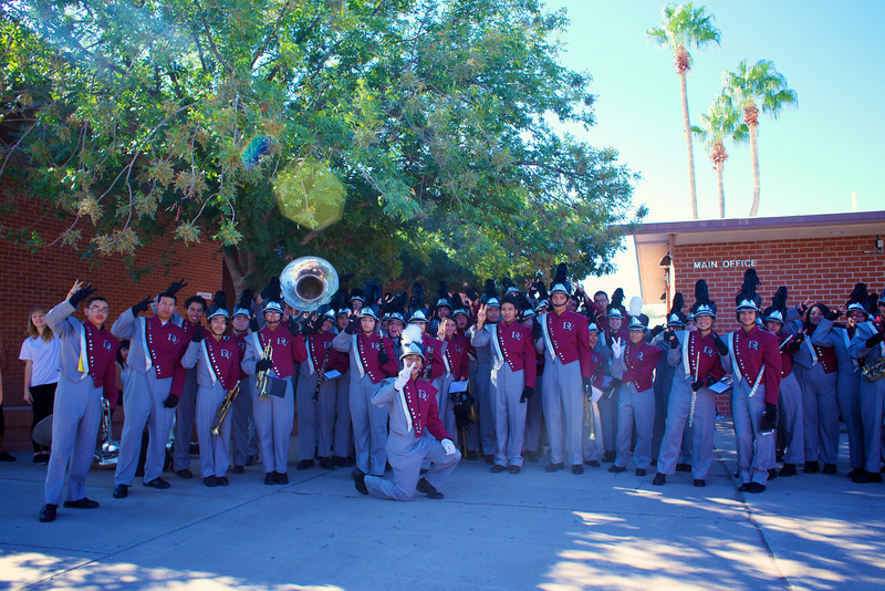 2013_09_11, Tucson, AZ, US Department of Education, Sunnyside High School, Students, Peace, Marching Band, lb.org