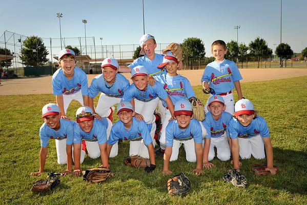 Cardinals Team Photos 2012