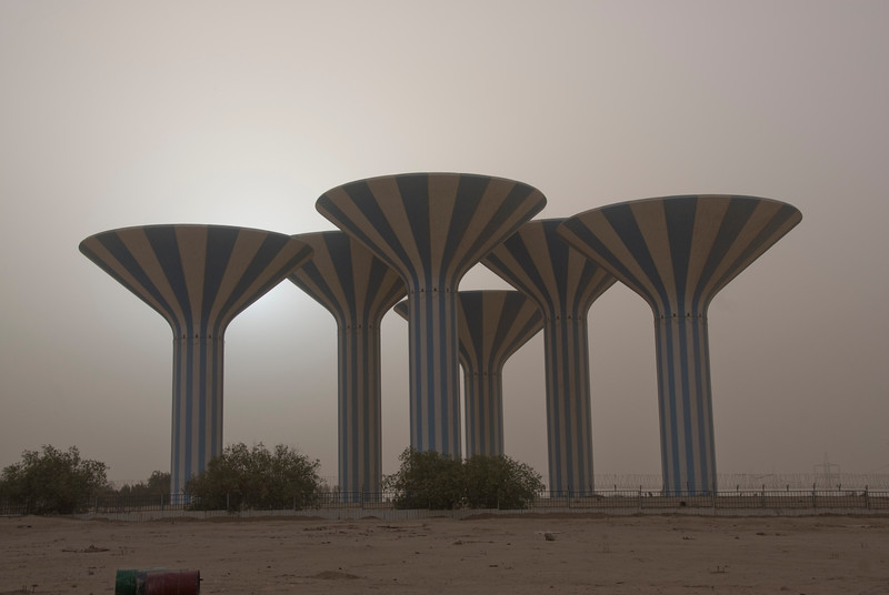 Kuwait Water Towers 1 - Kuwait City, Kuwait