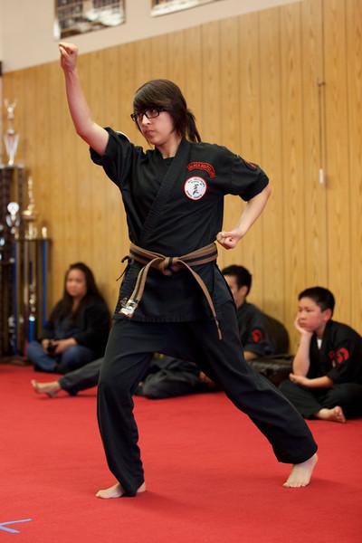 2011-06-25 Brown Belt Test - Nadia