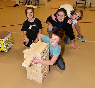 Let's Play Giant Jenga photos by Gary Baker