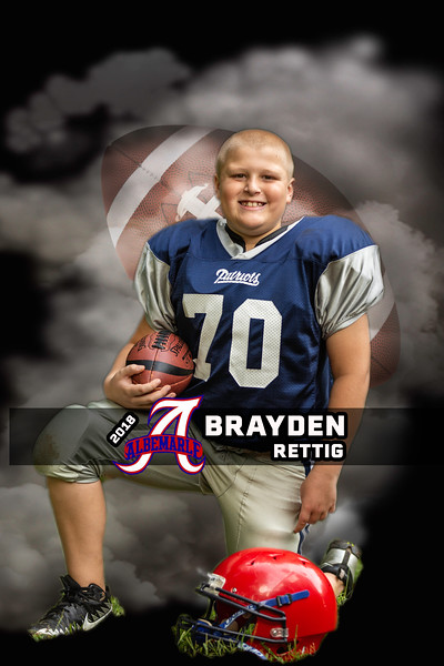 Brayden Football Ablemarle