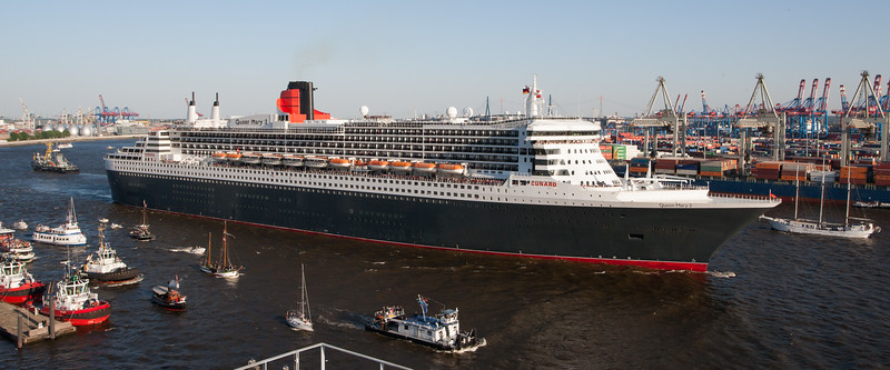 Queen Mary 2 Hafengeburtstag Hamburg