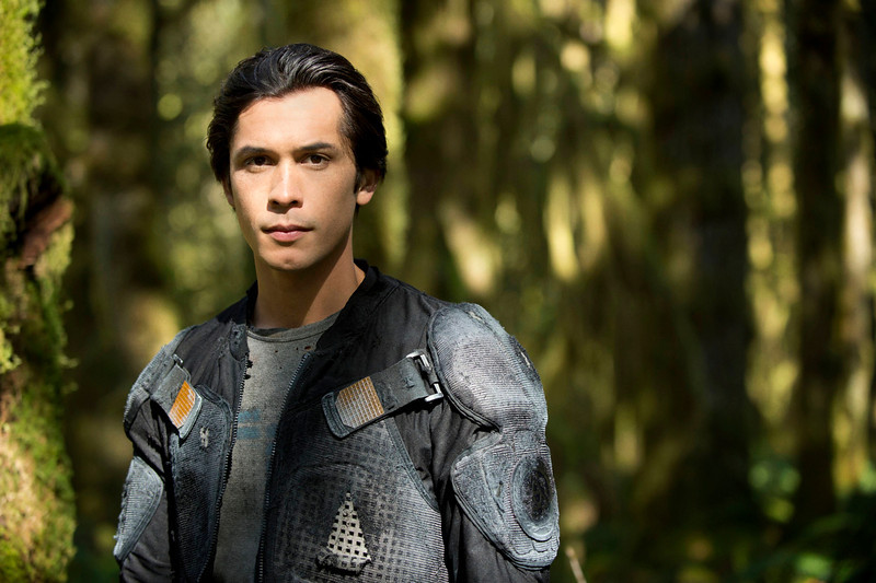 . The 100 -- Pictured: Bob Morley as Bellamy (Photo by Cate Cameron/The CW)