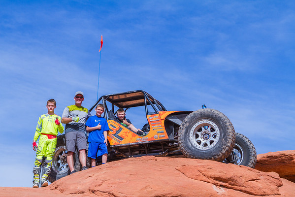 Trail Hero Day 3 10-8-16 Sand Hollow State Park UT