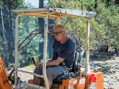 Building Manzanita Trail, April 21-23, 2017