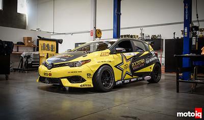 Fredric Aasbo's Rockstar Energy Toyota Corolla iM Formula Drift Car