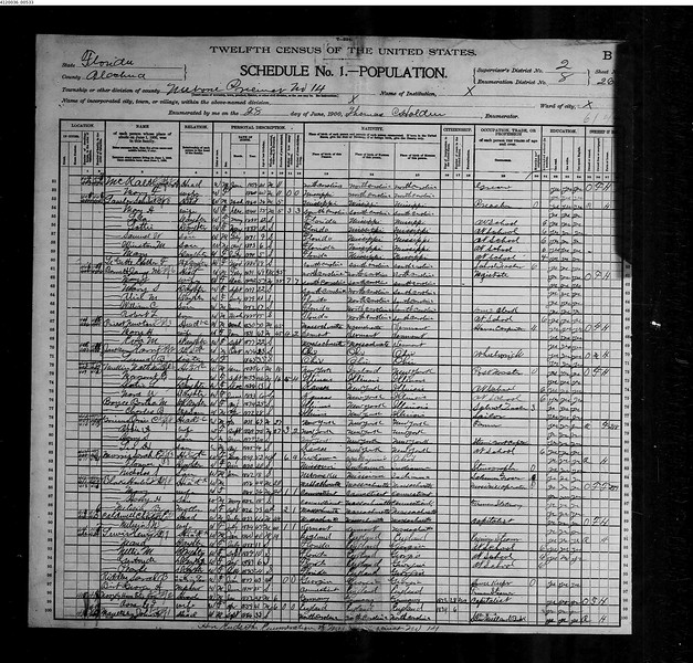 1900 census Lewis family in Melrose Fl.jpg