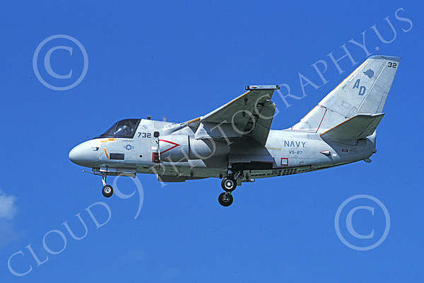 US Navy VS-27 GRIM WATCHDOGS Military Airplane Pictures