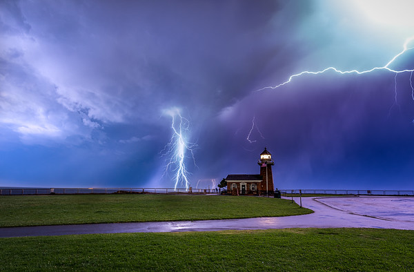Santa Cruz Lightning Storm