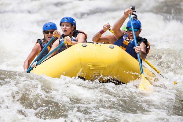 White Water Rafting Columbus GA 7-25-2013