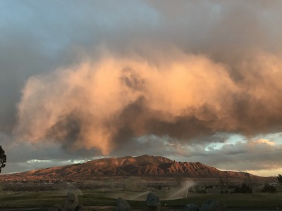 2018 March 17th storm over Sandias