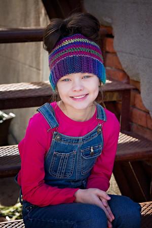 Mel's Design Boutique messy bun hats