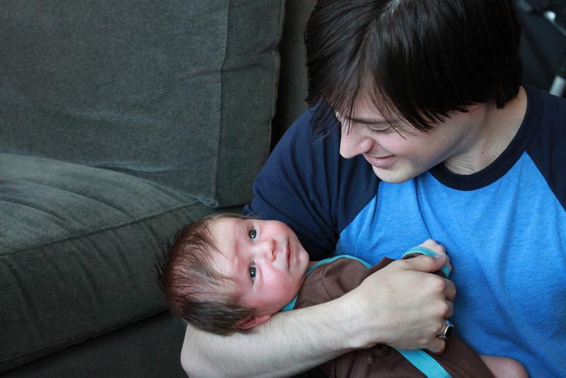 Meeting Uncle Aaron