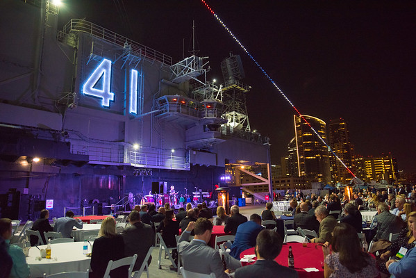 AWRF - USS Midway Museum Event San Diego Westin Gaslamp Commercial Convention Event Photographer 92101