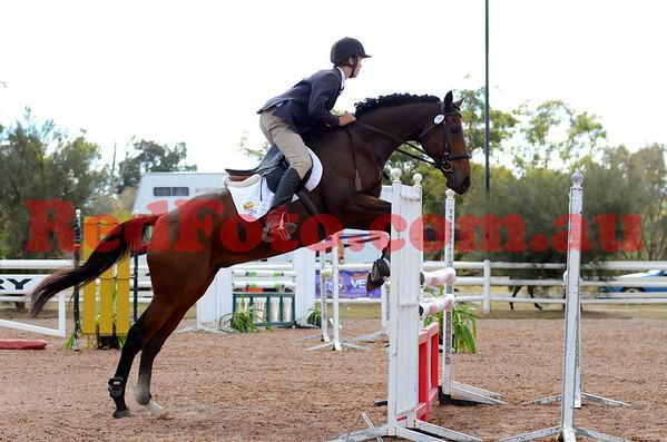 2012 04 21 WAYER @ Brookleigh ShowJumping EvA105 PreNovice
