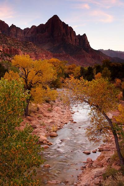Watchman Zion National Park Utah