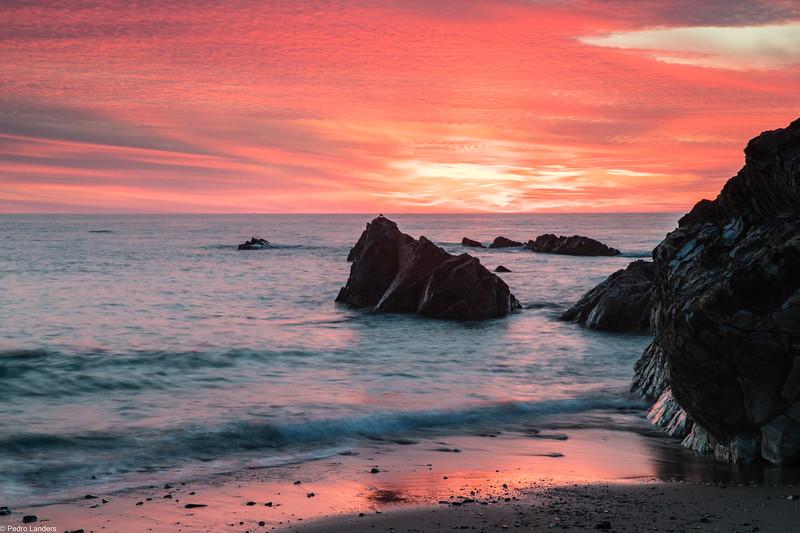 Widemouth Sunset 3