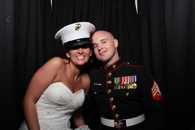 Megan Clark and Bradley Brown Wedding Photo Booth