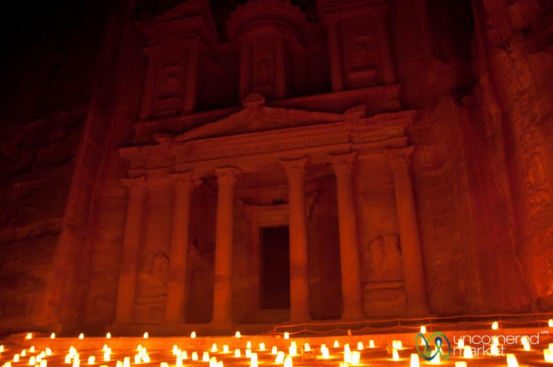 Petra By Night - Jordan