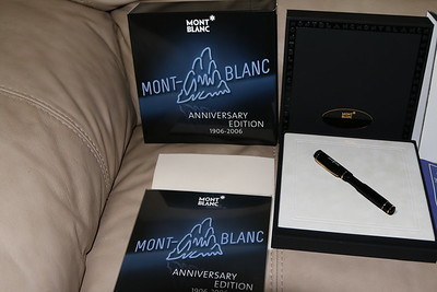 Monte Blanc 100 Anniversary Pen & Pencil Set