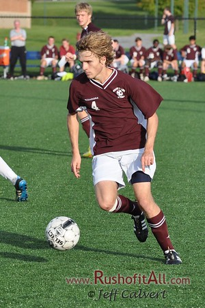 SCAHS Varsity Soccer at Hershey, Oct. 10, 2011