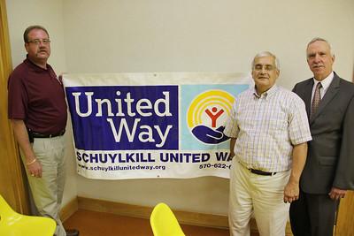 United Way Kickoff, Borough Hall, Tamaqua (8-20-2012)