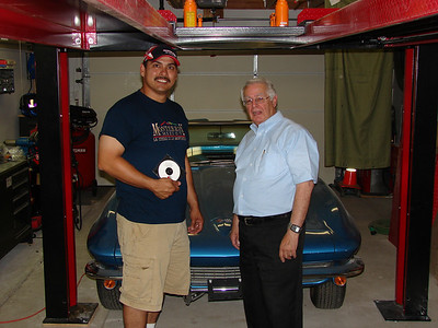 Ray Battaglini (NCM) Corvette Hall of Fame Inductee