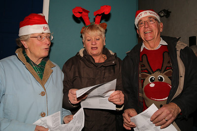 Harwich Society Charity Carol Singing 2015