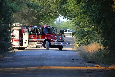 Melissa,TX. Mutual aid mulch facility fire 6/17/18