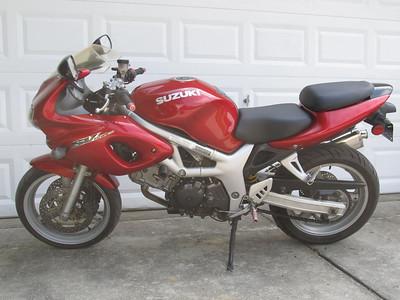 9/2011 SV650S